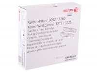 Тонер-картридж XEROX Phaser 3052/3260/WC 3215/25 3K упаковка 2 шт. (106R02782/106R02778)