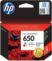 Картридж HP 650 [ CZ102AE ] (CMY, до 200 стр) для Deskjet Ink Advantage 2515 / 3515 / 1015 / 2645 / 2545 / 1515 All-in-One