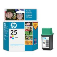 Картридж HP N25 tri-color 19.5ml (51625AE, DJ-310/320/340/400/420c/500c/540/550c/560c, DW-310/320/540/550c/560c, APOLLO-1200/1220) до 150 стр.